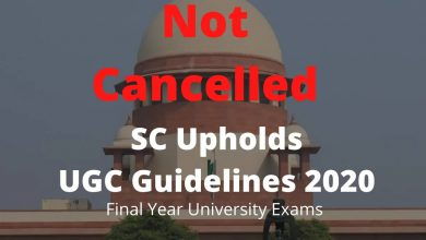 Photo of UGC right to make exams compulsory but states can postpone schedule: SC
