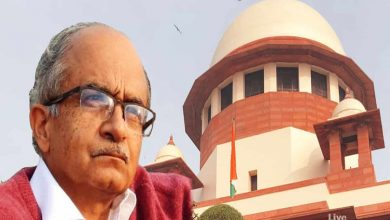 Photo of Contempt case: SC rejects submission of Bhushan for hearing on sentence by another bench