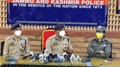 Photo of All three militants killed in Batamaloo locals from South Kashmir: DGP Dilbagh Singh