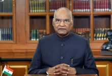 Photo of President Ram Nath Kovind in hospital after chest discomfort