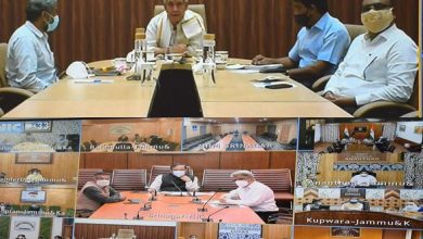 Photo of Lt Governor Chairs Covid Review Meeting