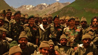 Photo of ARMY COMMANDER NORTHERN COMMAND PAYS HOMAGE TO CAPTAIN VIKRAM BATRA FROM THE SKY