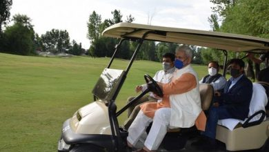 Photo of Lt Governor launches Golf Training Academy