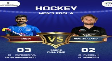 Photo of India beat New Zealand 3-2 in Pool A opening match in men's hockey campaign