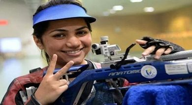 Photo of Indian shooter Apurvi Chandela with prior Olympic experience to compete in Tokyo Olympics