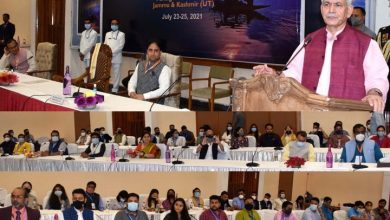 Photo of Lt Governor attends Valedictory session at Young Thinkers Meet-2021