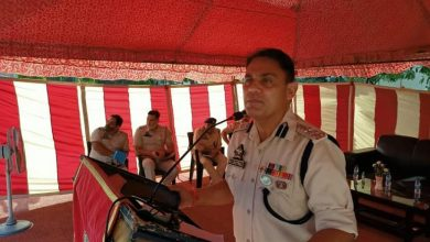 Photo of SSP Kathua holds darbar with jawans