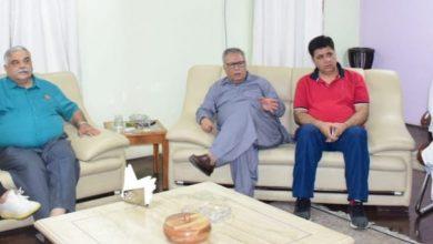 Photo of JKCA's sub-committee calls on Advisor Khan