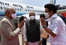 Photo of President Kovind reaches Chennai on five-day tour of Tamil Nadu