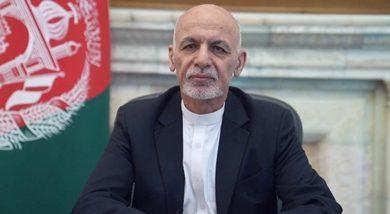 Photo of Deposed Afghan President Ashraf Ghani supports talks between Taliban and Hamid Karzai