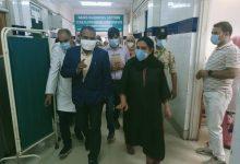 Photo of Div Com visits various Srinagar Hospitals