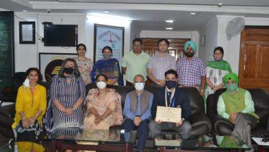 Photo of NSS National Awardee Vikas Pandita calls on VC Jammu University